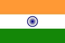 Breve presentation de l'Inde dans 2. India...Namaste drapeau-inde
